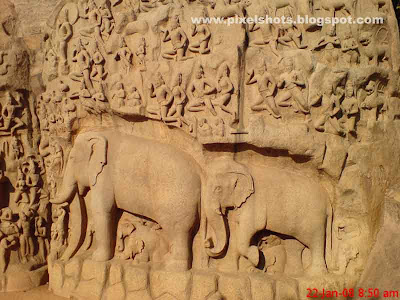 rock-carvings,mahabalipuram-rocks,protected-monuments,mahabalipuram-sculptures,archaeological-monuments