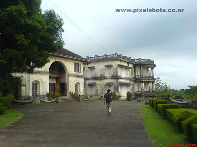 hill palace of ernakulam kerala photograph from palace walking lane