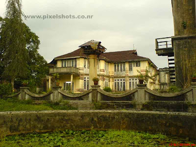 the old palace photograph from kerala india