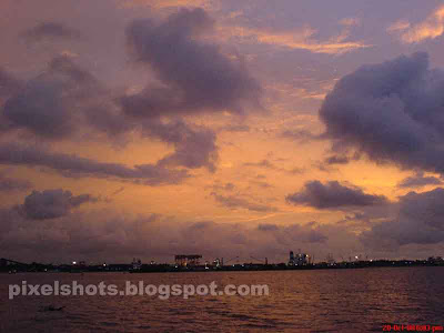 Kerala sunset sceneries,beautiful tropical sunsets,kerala sunset photo,sunset picture fom cochin kerala