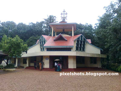 small chappel near St alphonsamma home