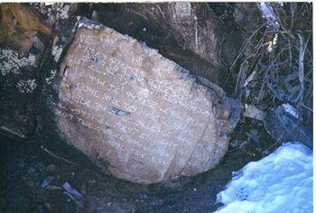 Can Book of Mormon be a true ancient record? Los Lunas New Mexico Ten Commandment Stone