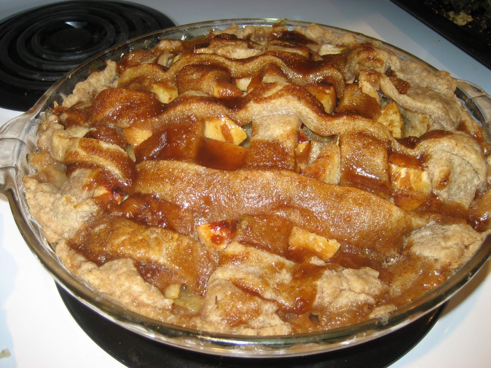 Caramelized Apple Tart Recipe — Dishmaps
