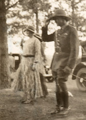 My father accompanies the wife of the Governor-General.