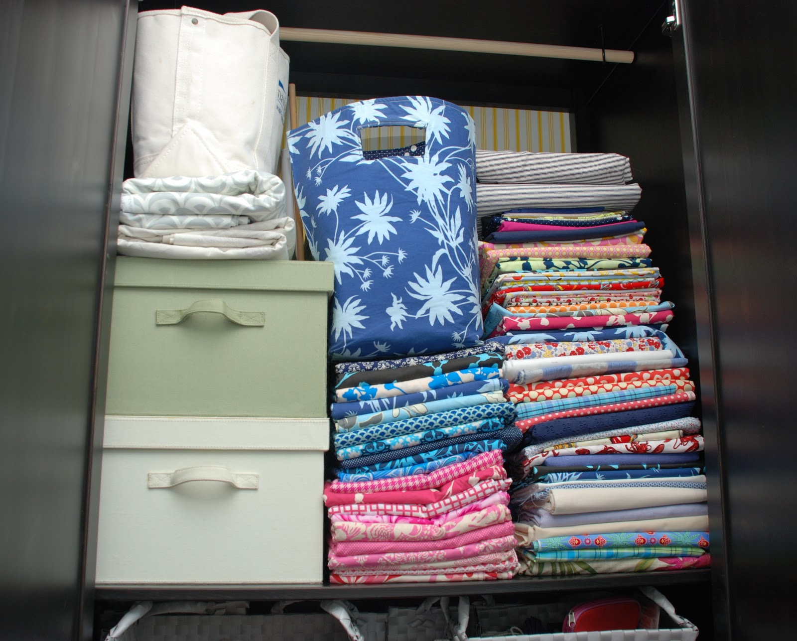 Our little beehive becoming handy through home renovation cooking - As You May Recall I Kept All My Fabric Sewing And Craft Supplies In The Armoire In Our Guest Room Which Was Supposed To Be A Temporary Storage Area