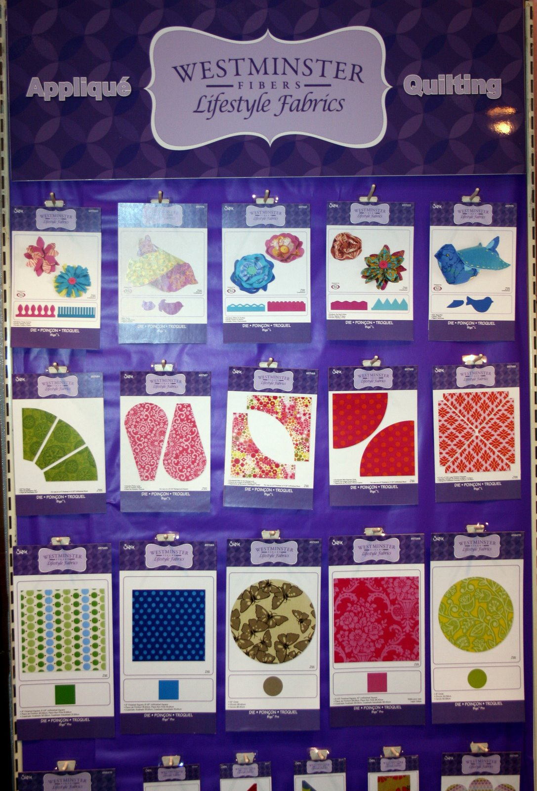 I Have A Notion: Quilting By Design - Sizzix and Westminster's ... : quilt dies - Adamdwight.com