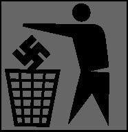 No a los nazis!!