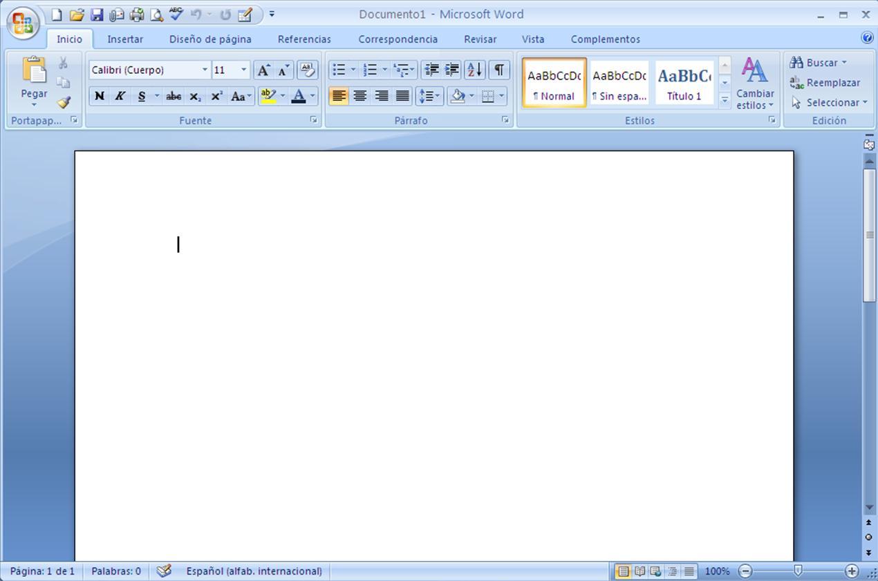 Tutorial Basico Para Microsoft Word 2007 191 Como Iniciar