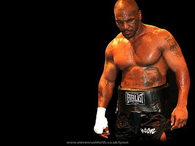 mike tyson wallpaper. mike tyson knockout pictures.