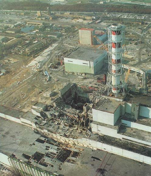 Worst Manmade Disaster, Chernobyl Nuclear Disaster