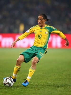 Steven Pienaar pieza clave del seleccionado de Sudafrica - Figuras del Mundial Sudafrica 2010