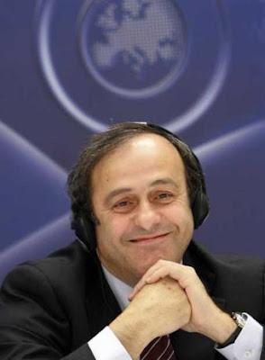 Michel Platini y sus pronosticos para la Copa Mundial Sudafrica 2010