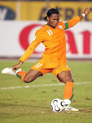 Didier Drogba el mejor delantero africano - Figuras del Mundial Sudafrica 2010