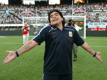 Convocados por Maradona para Sudafrica