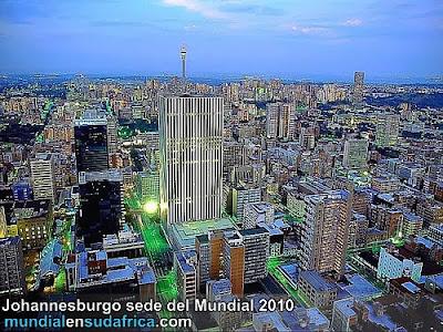 Johannesburgo sede del Mundial 2010