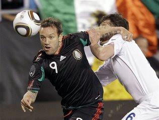 Mexico empata con Islandia a cero