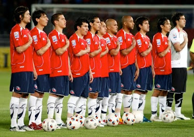 Lista de jugadores de Chile
