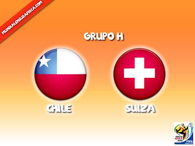 Partido Chile vs Suiza Grupo H