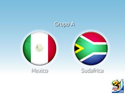 Mexico vs Sudafrica 2010 en vivo