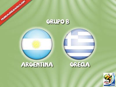 Partido Argentina vs Grecia