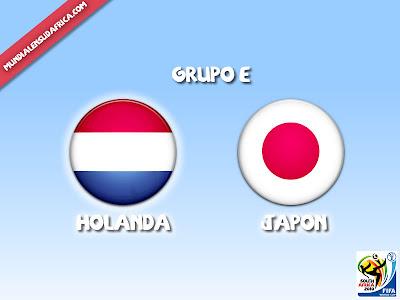 Holanda vs Japon Grupo E