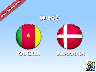 Camerun vs Dinamarca Grupo E