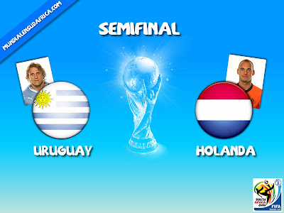 Uruguay vs Holanda Semifinal Mundial 2010
