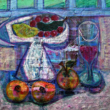 Still Life with Fruit and Wine Glass
