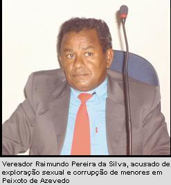 Vereador denunciado por exploração sexual pelo MP de Mato Grosso