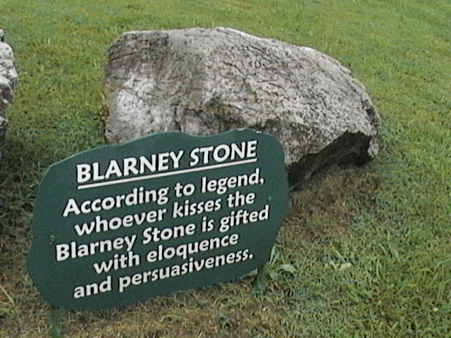 the not so lucky blarney stone Blarney stone is a part of the blarney castle structure and for years, it's been a tourist hotspot while there are plenty of rumours and fantasy's about how blarney stone came about and why people kiss it, there has yet to be an official publication released about it.