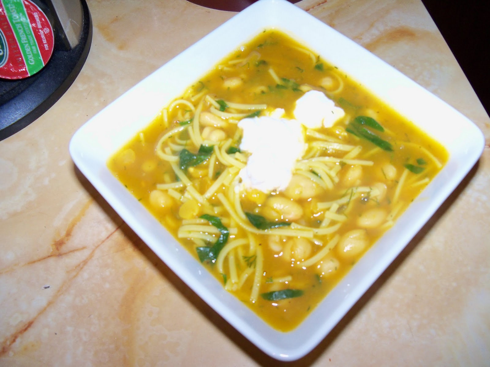 Life on the Vegan Edge: New Year Noodle Soup