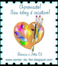 Selo aprovado! Seu blog é criativo!