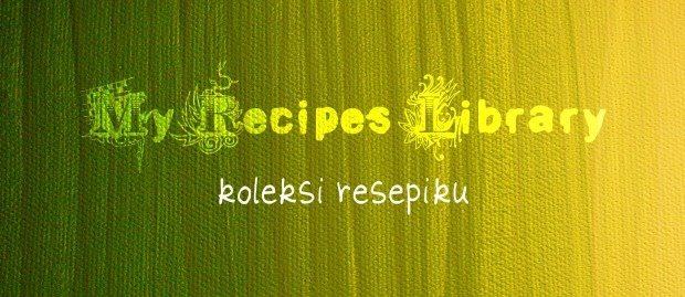 My Recipes Library