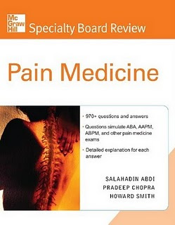 Pain Medicine. Specialty Board Review.
