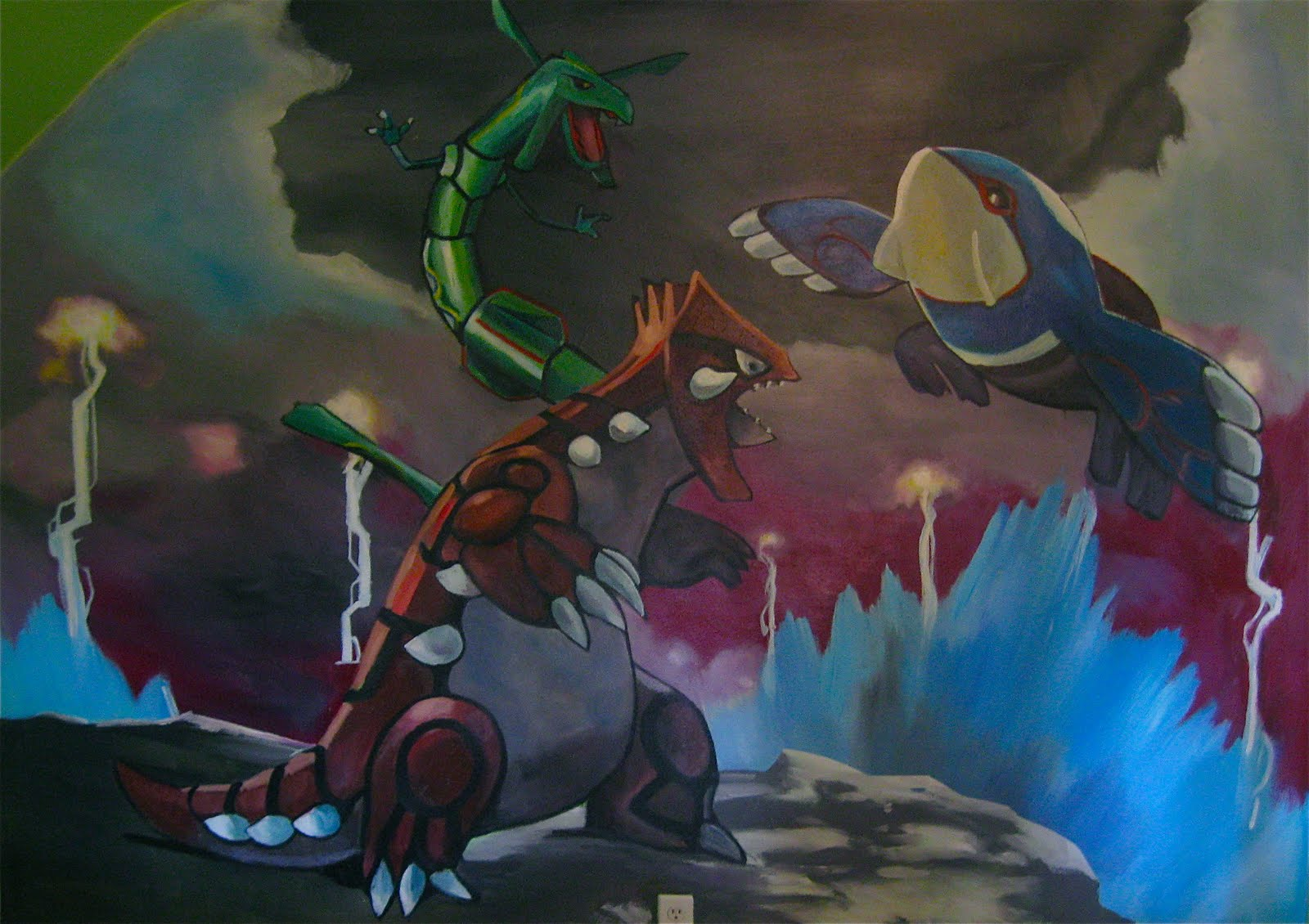 Scott hunter pokemon wall mural for Mural 01 pokemon picross