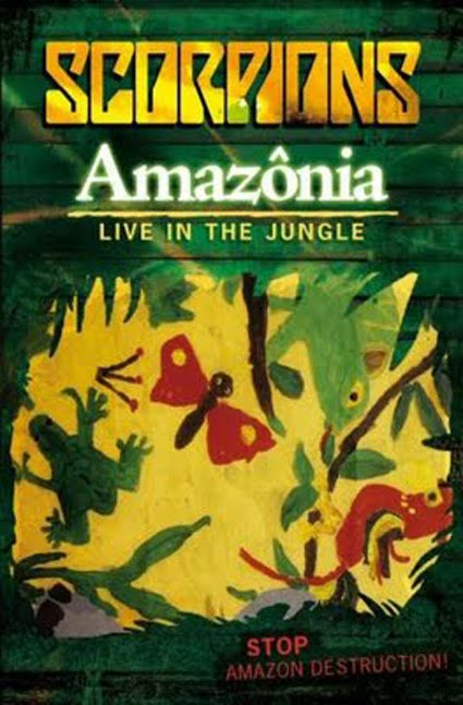 Scorpions - Amaz�nia Live In The Jungle