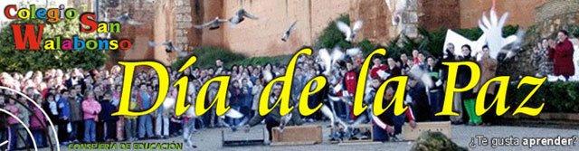 Actividades Día de la Paz CEIP SAN WALABONSO