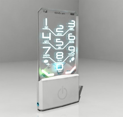 nokia transparent phone concept