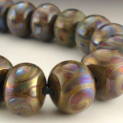 Earth Gem round beads