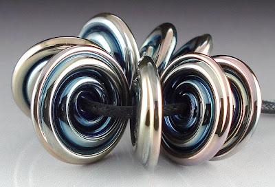 Shiny Triton Disc Beads