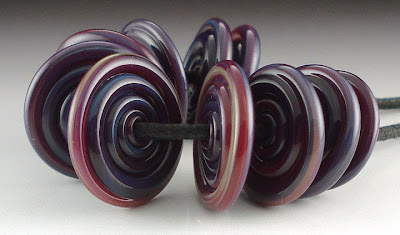 Purple Pandora Spiral Disks