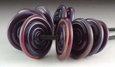 Purple Pandora Spiral Disks