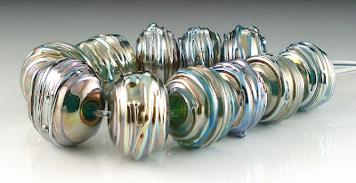 Metallic Beads on Etsy