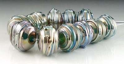 Metallic Beads on Etsy