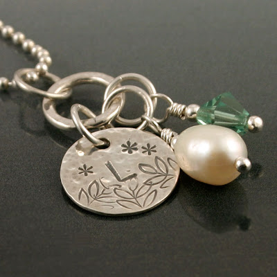 Sterling Silver Custom Charm Necklace