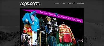 grass roots outdoor webpage