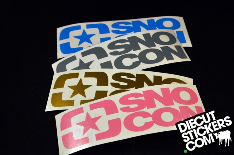 Snowboard Connection DieCutStickerscom - Custom die cut vinyl stickers snowboard
