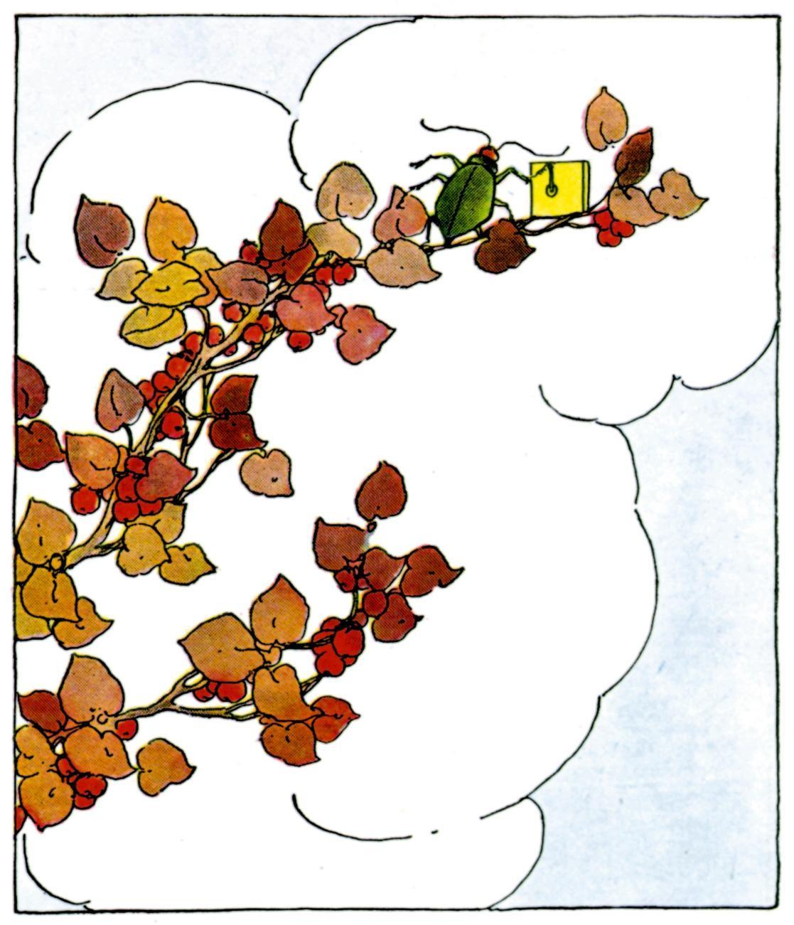 [Bug+&+Autumn+Leaves]