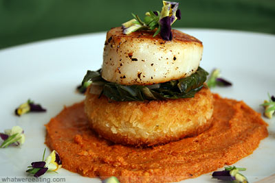 [Sea+Scallop+&+Polenta]
