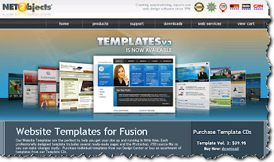 NetObjects Fusion Templates